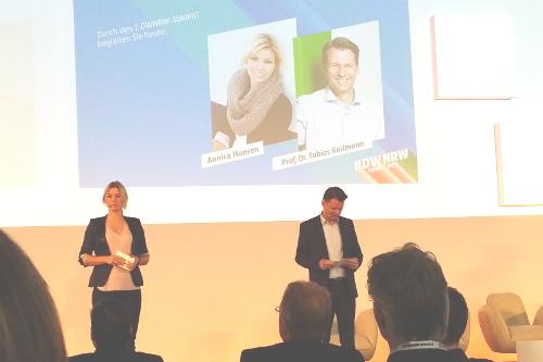 Auf dem DWNRW Summit – dem ersten Digital-Gipfel in NRW